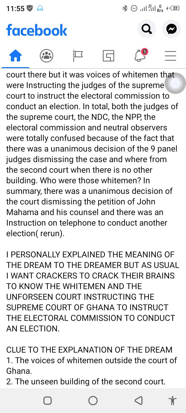 I Saw Mahama Lost The Court Case But Something Strange Happened- Islamic Cleric 3