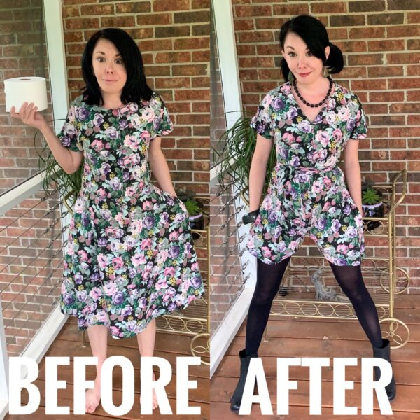Easy DIY Romper (from An Old Dress!) | REFASHIONISTA
