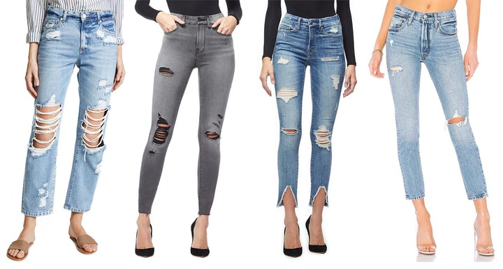 How Do You Prefer Your Jeans Distressed?   The Jeans Blog