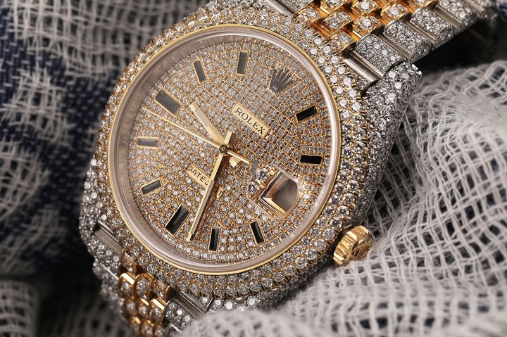 Image result for iced out watch