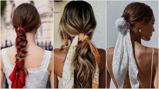 Friday Fashion Fits: How to Wear a Scarf With Different Hairstyles