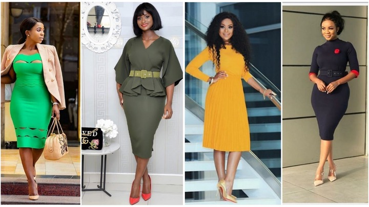 Ladies Corporate Gowns Style For Office Wear | SparklingGossip