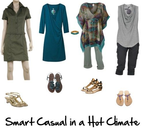 How to do Smart Casual in a Hot Climate — Inside Out Style