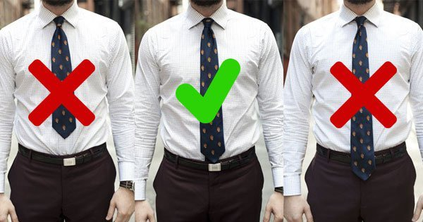 The Next Time You Wear A Tie, Follow These Dos & Don'ts To Make Sure You  Leave The Right Impression
