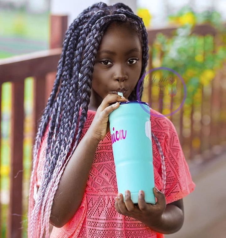 Meet Sante Nsiah-Apau, The Cute Daughter Of Okyeame Kwame Who Is The  Youngest Entrepreneur In Ghana » GhCelebInfo.online™ | Latest Entertainment  Gossips