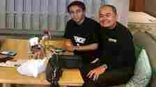 Taqy Malik bersama ayahnya, Mansyardin Malik. [Instagram]
