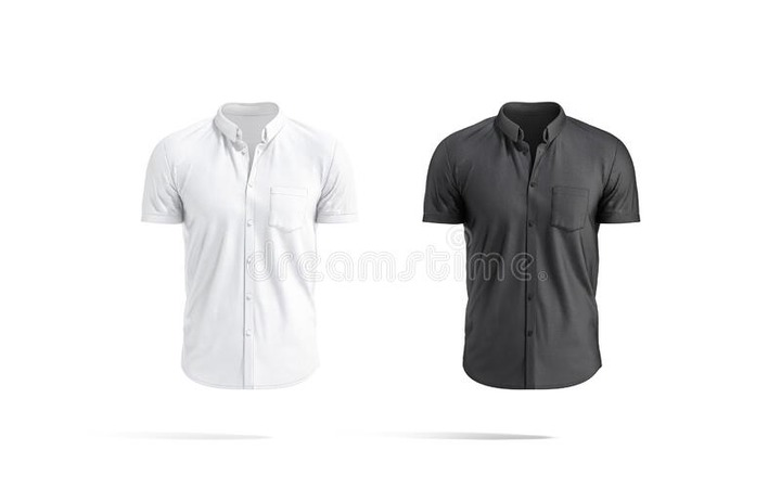 Button Shirt Mockup Stock Illustrations – 2,403 Button Shirt Mockup Stock  Illustrations, Vectors & Clipart - Dreamstime