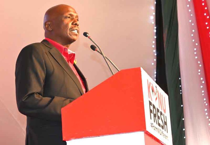 No turning back as Gideon Moi sets off on 2022 journey
