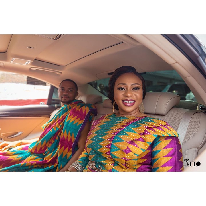 Photos of Adwoa Safo and her current husband drop on their wedding anniversary. 59