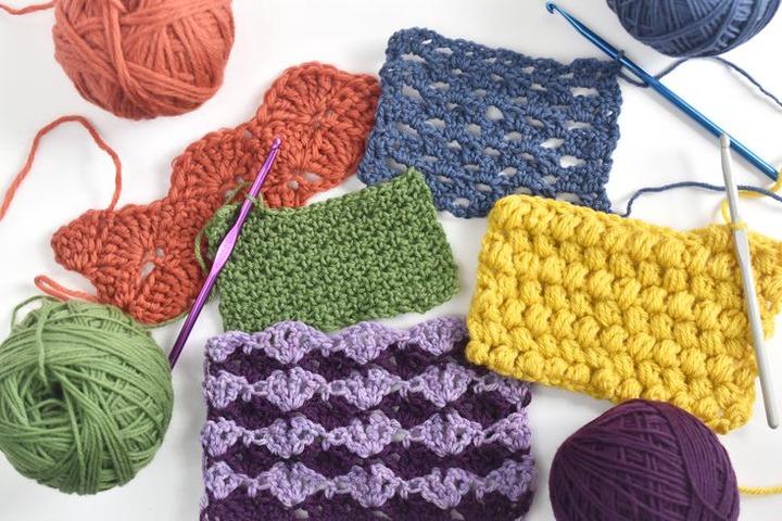 10 Most Popular Crochet Stitches