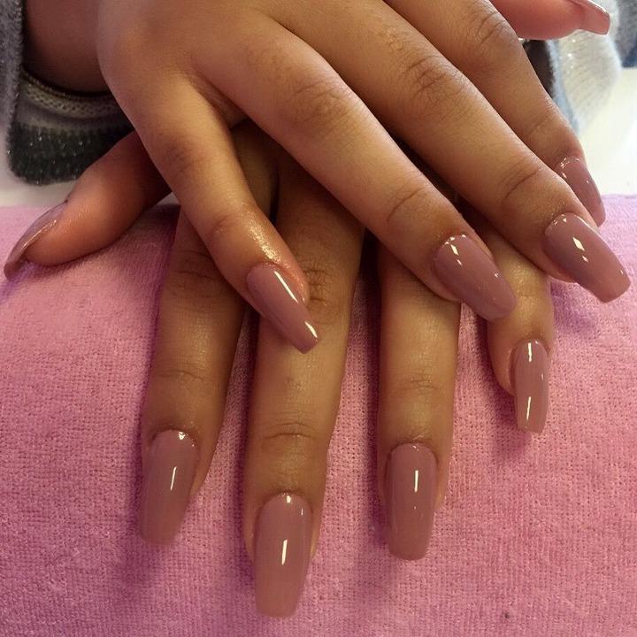 36 Dark skin nail polish ideas | pretty nails, nail colors, beautiful nails