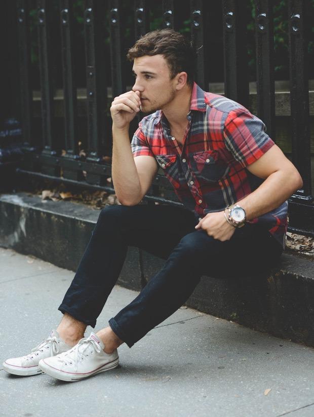 Check Shirt   Mens Fashion Magazine