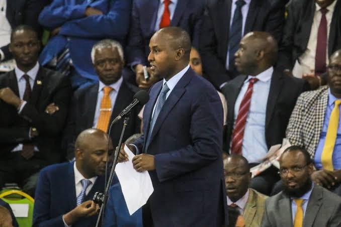 Junet Mohamed Booed, Forced to Cut Short His Speech [Video] - Opera News
