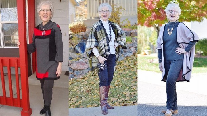 30 Outfits for Women Over 60-Fashion Tips For 60 Plus Women