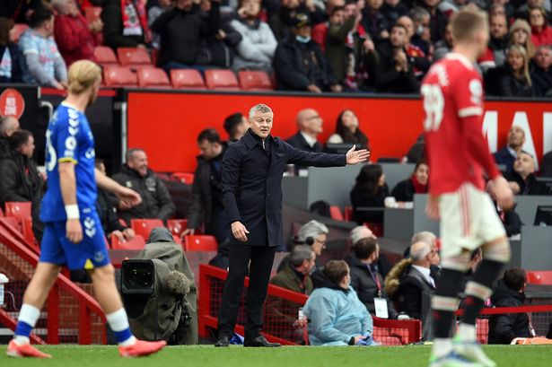 Ole Gunnar Solskjaer pinpoints where Manchester United got it wrong for  Everton goal - Manchester Evening News