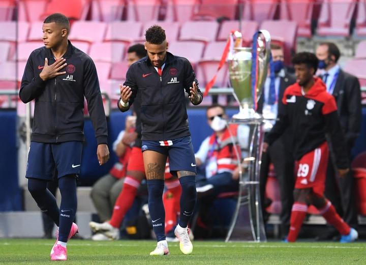 Neymar & Mbappe react to PSG's Champions League final defeat
