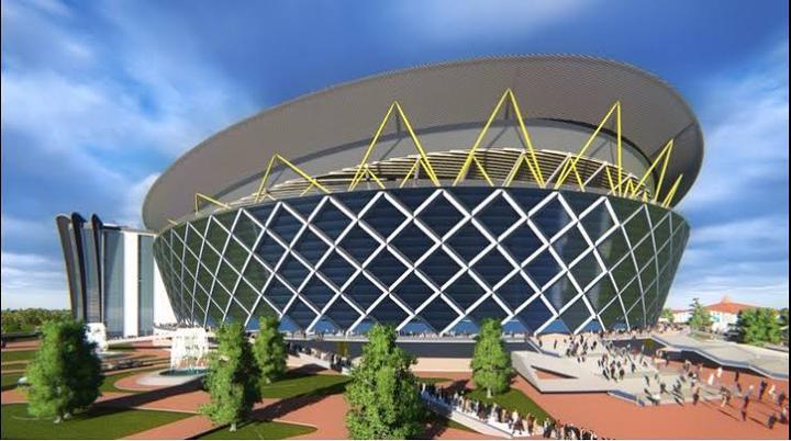 UNVEILING THE ARK -NEW WINNERS' CHAPEL HEADQUARTER (A STADIUM LIKE 100,000-SEAT SANCTUARY).