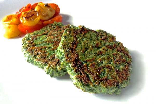 Spinach Weight Loss Recipes - Spinach Burgers