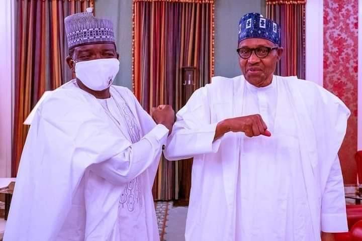 Buhari praises Matawalle as he almost cleansweeps PDP, moves to APC with 3  Senators, 6 of 7 reps, 24 state legislators – Everyday.NG
