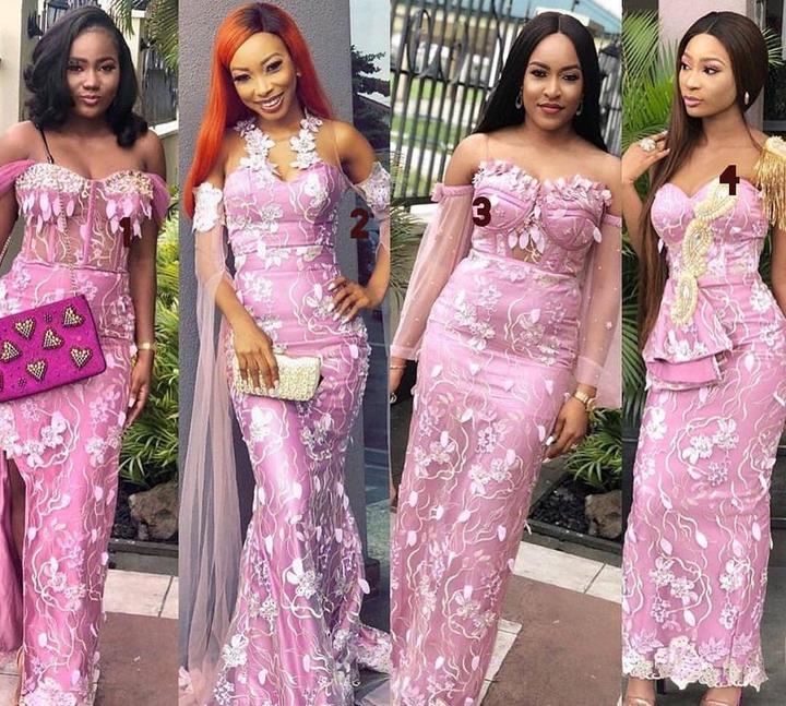 Recent aso-ebi styles In Nigeria Fashion Catalogue-Get Chic