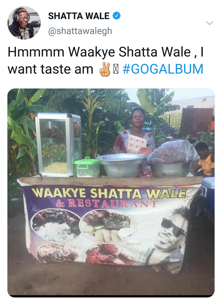 "964a49c853c4dfbe7a9e101c0046d125?quality=uhq&format=jpeg&resize=720 - Checkout Shatta Wale's Epic Reaction After Seeing A Waakye Joint Branded As ""Waakye Shatta Wale"""