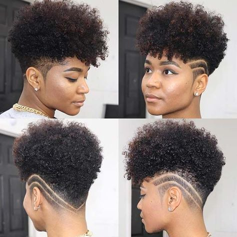 Pin on tapered natural hair