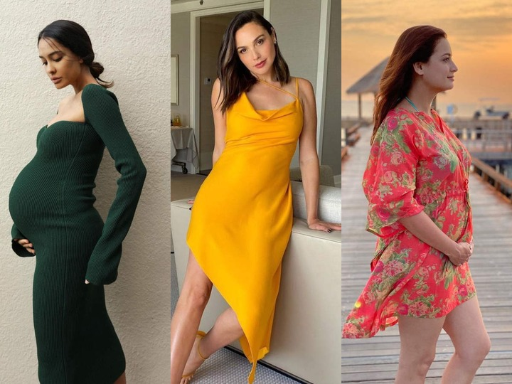 How celebrity mothers-to-be are redefining maternity fashion - Times of  India