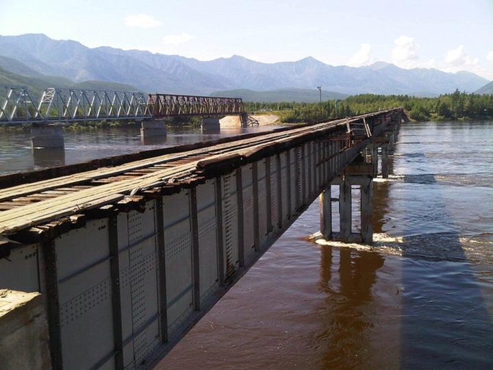 Vitim River Bridge, Russia by Bridge Me • Findery
