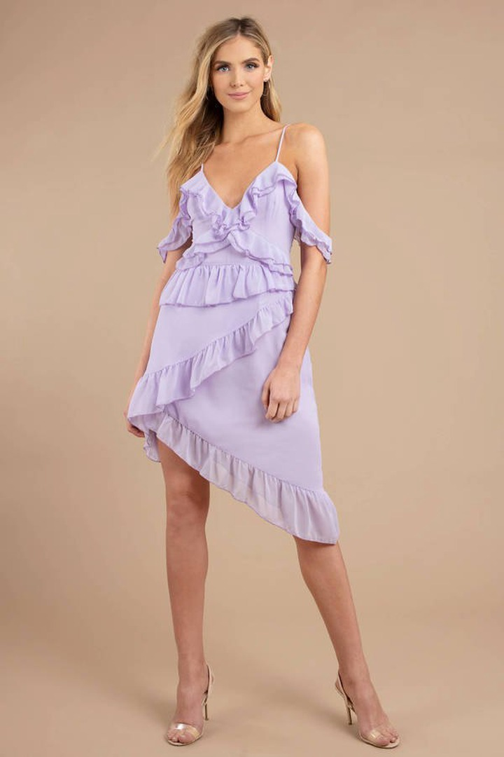Top 15 Purple Midi Dress Outfit Ideas for Women: Style Guide - FMag.com