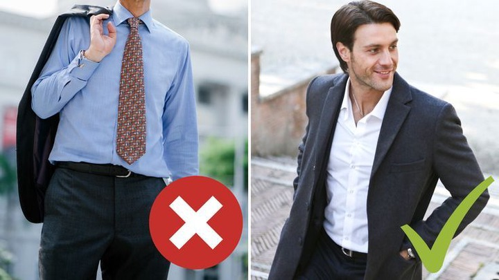 FASHION MISTAKES MEN MAKE AT THE OFFICE! | Style mistakes, Business casual  men, Winter outfits men