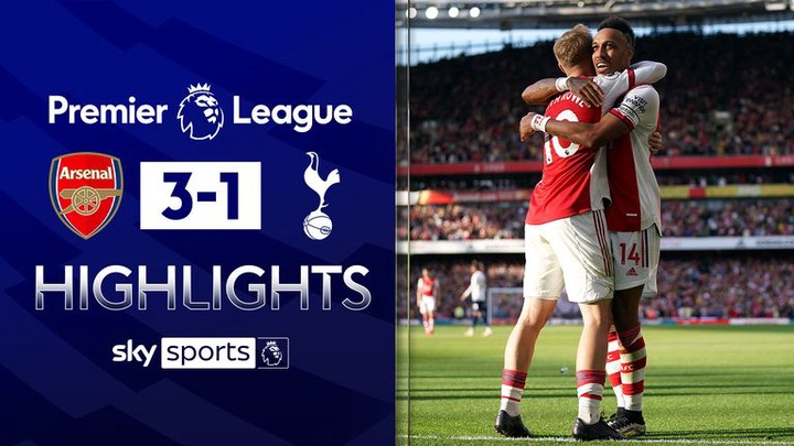 Arsenal 3-1 Tottenham: First-half blitz gives Arsenal memorable derby win  over woeful Spurs | Football News | Sky Sports