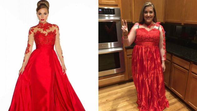 Girl Buys Prom Dress On The Internet, Immediately Regrets It | HuffPost UK