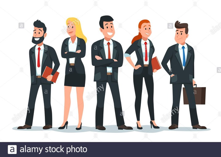 Business people team. Office teamwork, professional finance workers group  and businessman characters vector cartoon illustration Stock Vector Image &  Art - Alamy