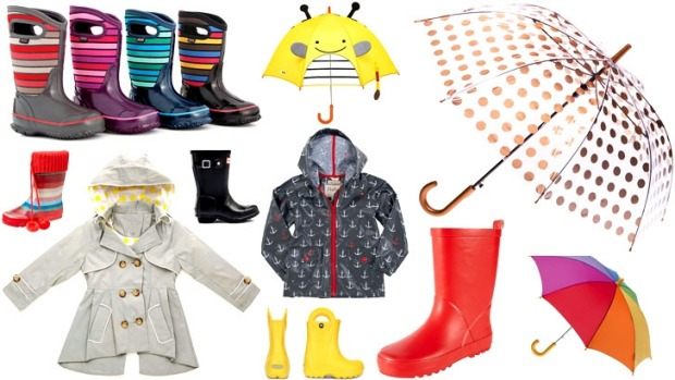 Get splashy: essential rain gear for kids