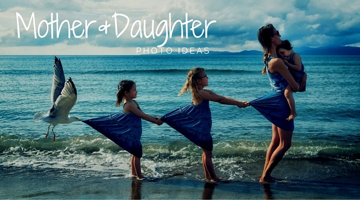 50+ Lovely Mother and Daughter Photo ideas