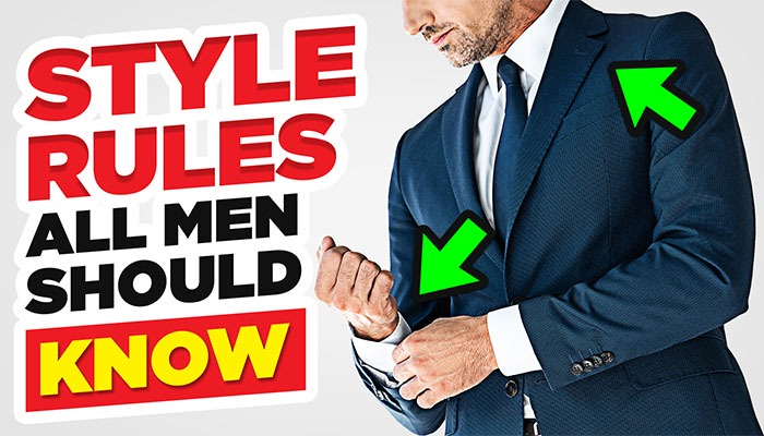 Dressing Rules EVERYONE Should Learn (Basic Men's Style Tips)
