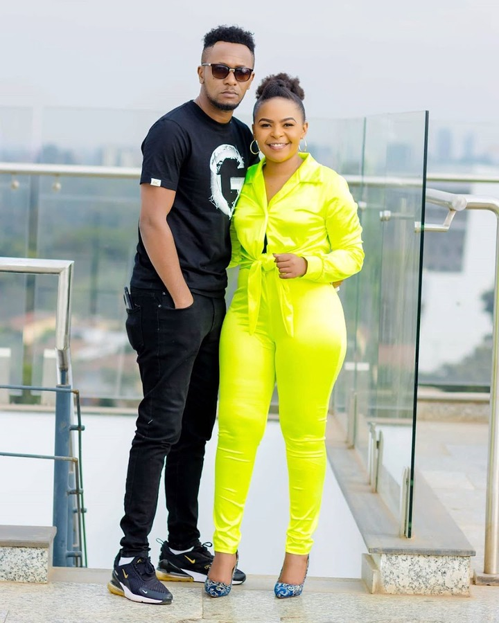 Size 8 shocks DJ Mo with love after cheating claims