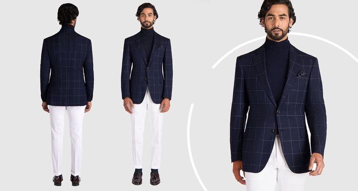 The Best Blazer and Pants Color Combinations   Black Lapel