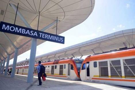 The Mombasa Terminus of the Standard Gauge Railway.