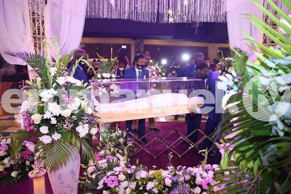 T B Joshua Burial