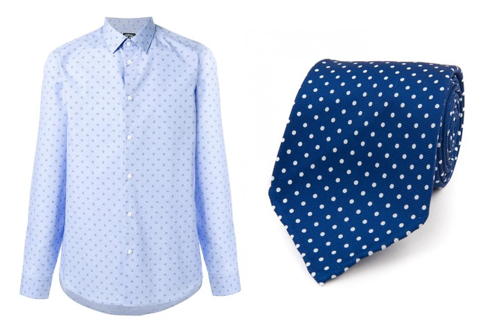 5 Un-boring Shirt-and-Tie Combinations To Try Right Now | GQ