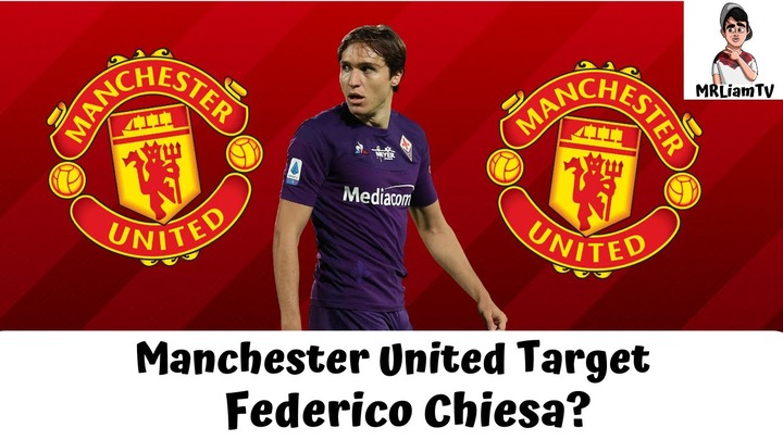 Manchester United Target Federico Chiesa For Summer Transfer? | Man United  Transfer News - YouTube