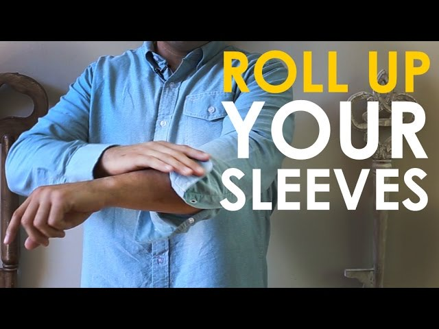 How to Roll Up Your Sleeves | The Art of Manliness - YouTube
