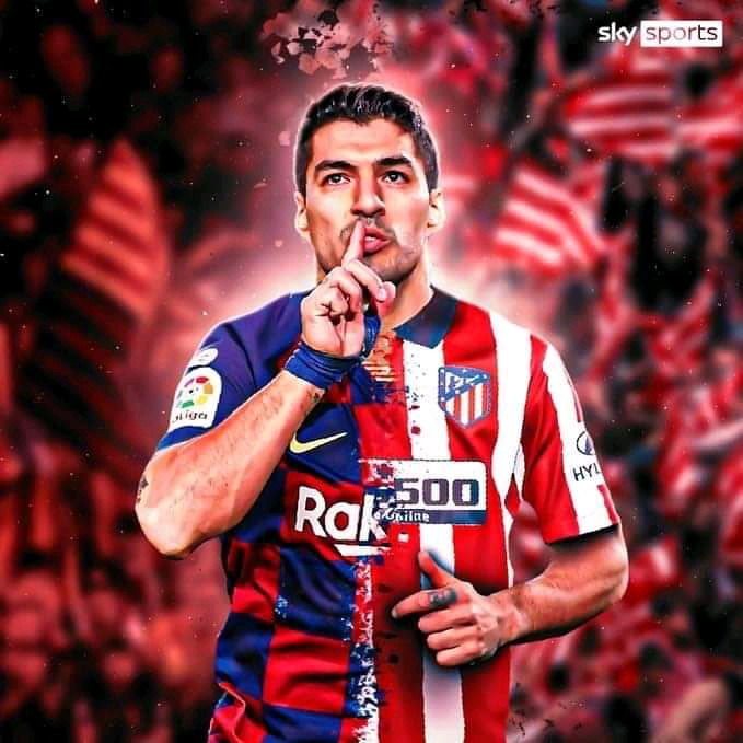 Officially, Atletico Madrid Signed Luiz Suarez