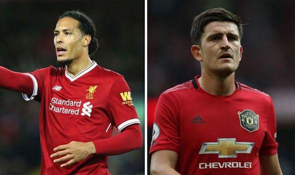 Harry Maguire and Virgil van Dijk comparison made after Man Utd hammer  Chelsea | Football | Sport | Express.co.uk