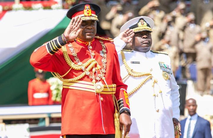 Why President Uhuru Kenyatta went commando - The Standard Entertainment