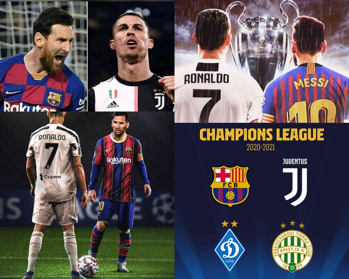 Juventus Versus Barcelona Could Finally End The Goat Debate Between Ronaldo And Messi Photos Opera News