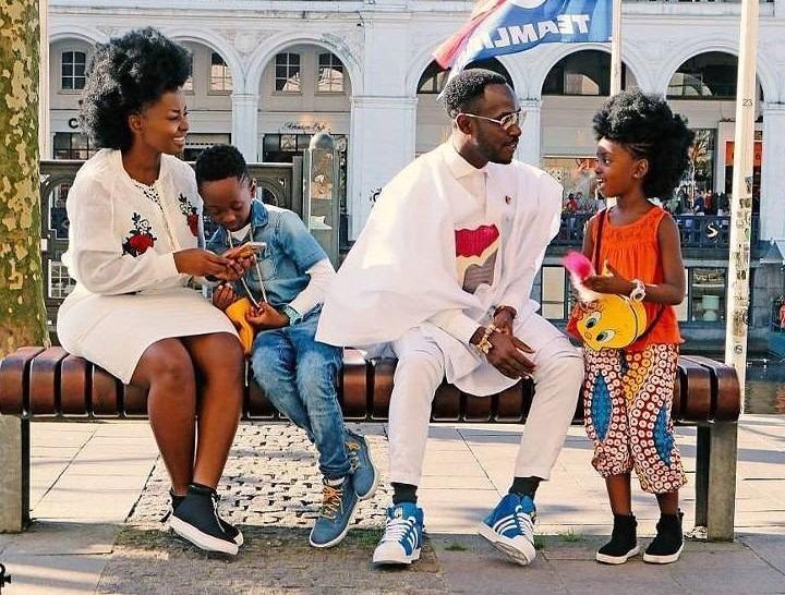 okyeame kwame and family