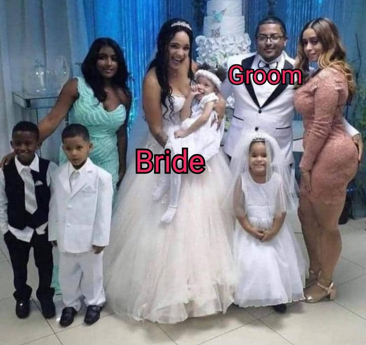 see why this wedding photo is creating buzz on social media (photos) 3