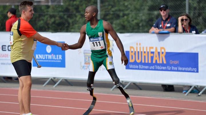 Ntando Mahlangu | International Paralympic Committee
